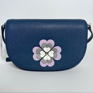 Kate Spade Reiley Spade Flower Flap Crossbody Bag